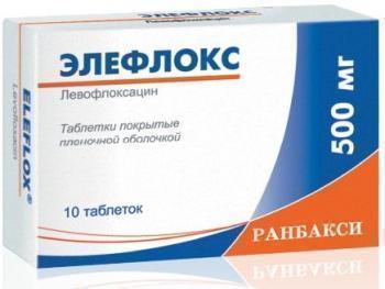 «Элефлокс»: инструкция по применению антибиотика для взрослых и аналоги