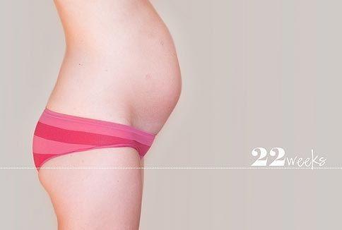 22 неделя беременности: что происходит с малышом, мамой