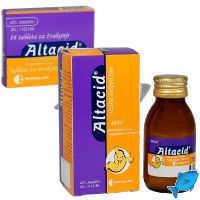 Алтацид: инструкция по применению, отзывы, стоимость, аналоги, свойства