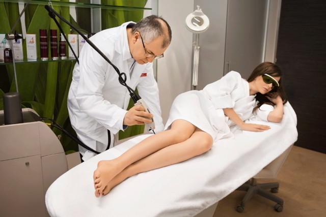 Как избавиться от сосудистых звездочек на ногах: методы удаления