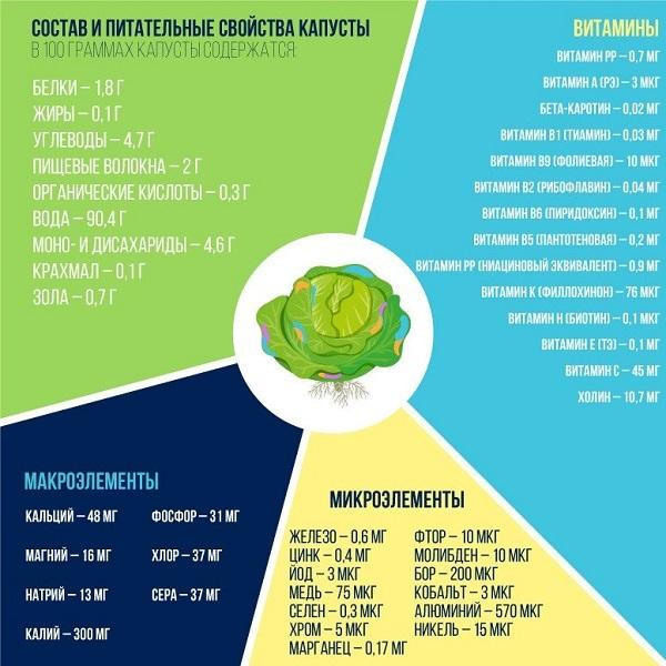 Капуста при гастрите: какой вид приносит пользу, рецепты, лечение соком