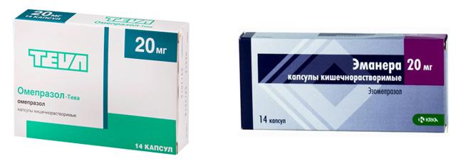 Эманера или Омепразол: что лучше и эффективнее в лечении, отзывы врачей